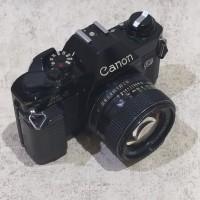 Kamera Analog Canon AL1 + FDn 50mm f1.4