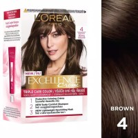 Loreal Excellence Creme Brown No. 4