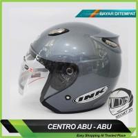 TERMURAH !!! Helm Motor Centro DAG Model INK Abu-Abu Exc. KYT BOGO NHK