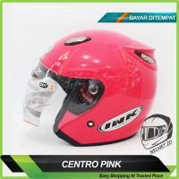 PROMO !!! Helm Motor Centro DAG Model INK Pink Magenta Exc. KYT BOGO