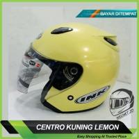 SALE !!! Helm Motor Centro DAG Model INK Kuning Lemon Exc. KYT BOGO