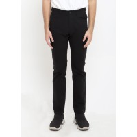 TRIPLE Celana Panjang Regular Slim Black (303 858 BLK)