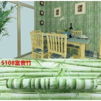 Wallpaper Sticker Bambu Hijau Muda