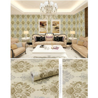 Wallpaper Sticker Batik Gold Silver