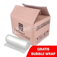 Packing Tambahan Box Kardus Double Wall FREE BUBBLE WRAP