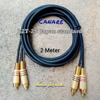 Kabel rca 2 ke 2 kabel canare 2 meter
