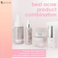 paket acne dan serum acne ms glow