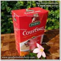 Pasta COUSCOUS 500gr - San Remo Australia