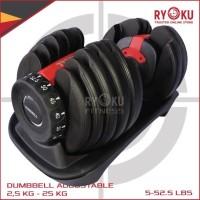 Dumbell adjustable set 24 Kg / Dumbbel Smart Tech 15 Level