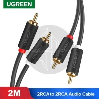 UGREEN 10518 Cable RCA Male To RCA Male Kabel Audio AV Home Theater