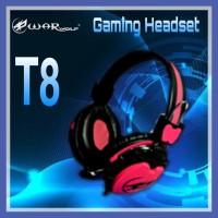 Headset Gaming WARWOLF T-8