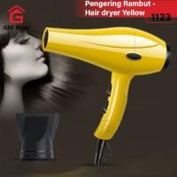 GM Bear Pengering Rambut Profesional Serbaguna Kuning 1123-Hair Dryer