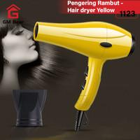 GM Bear Pengering Rambut Profesional Serbaguna - Hair Dryer - Kuning