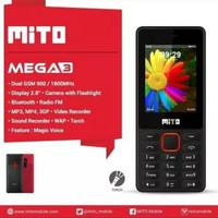 "MITO 770 Mega3 - Mega 3 - Candybar 2,8"" Dual SIM GSM"