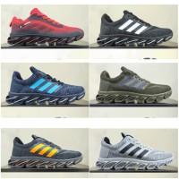 sepatu adidas sneaker running springblade import premium - Hitam
