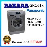 MESIN CUCI FRONT LOADING 10KG PANASONIC NA120VX6 NA 120 VX6 FAST WASH
