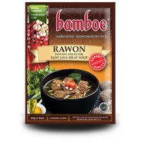 Bamboe Rawon Spices Mix For East Java Meat Soup 54 gr/Pack