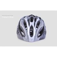 TaffSPORT Helm Sepeda EPS Foam PVC Shell - x10 - Silver