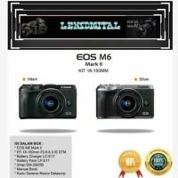 Canon EOS M6 mark ll KIT 18-150MM IS STM-ORiginal