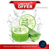 [LIMITED OFFER] NATURE REPUBLIC Aloe Vera 92% Soothing Gel 300ml