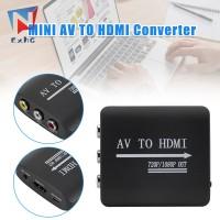 Exhg Adapter Konverter Mini AV Ke HDMI Kualitas Tinggi dengan Kabel