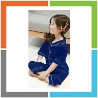 HT725 PIYAMA ANAK Pipe Satin 1 - 5 Tahun MAXKENZO Baju Anak BerKualita