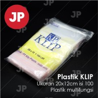 Plastik Klip Uk 12x20 isi 100