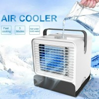 Portable Mini Air Conditioner Water Cool Cooling Fan Artic LED