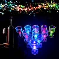 Clmx _ 50ml Gelas Minuman dengan Lampu LED Dapat Berubah Warna untuk