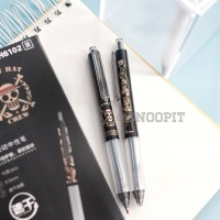 Pulpen Pena Pen Gel alat tulis kantor sekolah bolpen one piece anime