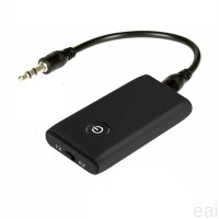 eai 2 in 1 Bluetooth 5.0 Transmitter Receiver TV PC Car Speaker 3.5m