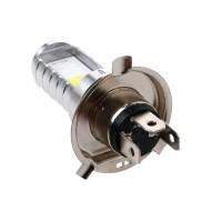 Lampu LED H4 15W Hi / Lo Beam untuk Depan Motor