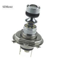 Lampu COB LED 100W 1800LM 6000K H4 9003 High / Low Beam untuk
