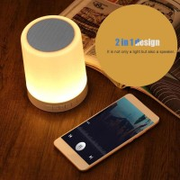 Alwaysonline Speaker Wireless Bluetooth 4.1 2 in 1 dengan Lampu LED S