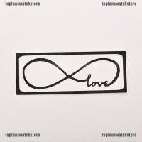 TOPL Stiker Decal Motif Love Infinity Bahan Vinyl untuk Macbook /
