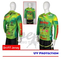 Sparrow Dri-FIT Jersey UV Protection - All Fishing Brand - Green