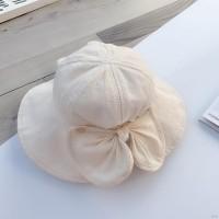 Topi Nelayan Princess Pelindung Matahari Warna Polos untuk Musim