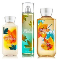 "Bath & Body Works Signature Collection  Wild Honeysuckle "" Gift Set ~"