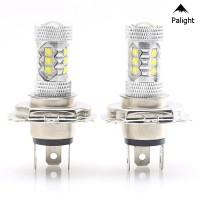 PA Milan 2Pcs 80W H4 9003 HB2 Lampu Kabut LED 1500LM High Low Beam