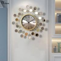 Nordic cermin jam dinding, Yang modern minimalis jam dinding, Ruang