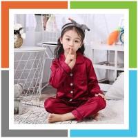 WS856 PIYAMA ANAK PP Satin 1 - 5 Tahun MAXKENZO Baju Anak BerKualitas
