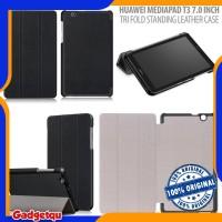 Huawei Mediapad T3 7.0 Inch - ORIGINAL Tri Fold Standing Leather Case