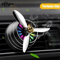 (in stock)Car Air Vent Clip LED Fan Aroma Diffuser