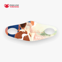Adelia Maghfira x Masker untuk Indonesia