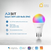 ARBIT - Smart Home Wifi LED Bulb 9W RGB + WW/CW TUYA