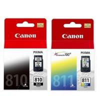 PAKET TINTA PRINTER CANON TIPE CL 811 + PG 810 /TINTA CATRIDGE /1SET