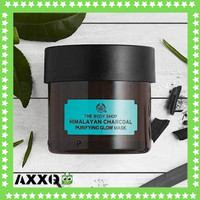 THE BODY SHOP HIMALAYAN CHARCOAL PURIFYING GLOW MASK ( MASKER WAJAH )