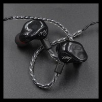 Termurah Knowledge Zenith Kz Zs3 In Ear Earphone - Hitam