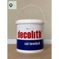 Cat Tembok Decolith Galon (5 kg) Putih SWS KHUSUS GOJEK / GRAB