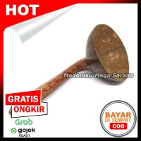 Centong Nasi Padang Batok Kelapa Gagang Glugu